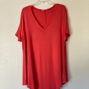 K Glam | Coral Tunic Dress